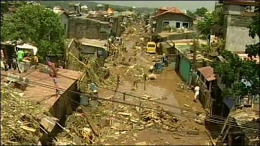 Philippine flood aftermath