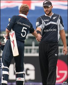 Paul Collingwood and Daniel Vettori