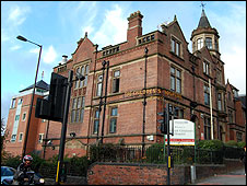 The Children's Hospital in Sheffield, pictured in 2009