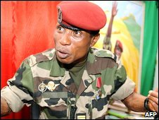 Captain Moussa Dadis Camara (Archive)