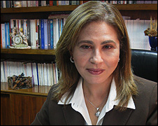 Hala Mustafa, magazine editor