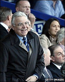 Everton chairman Bill Kenwright