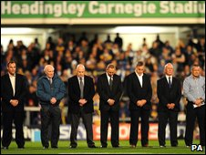 Former teammates tribute for John Holmes