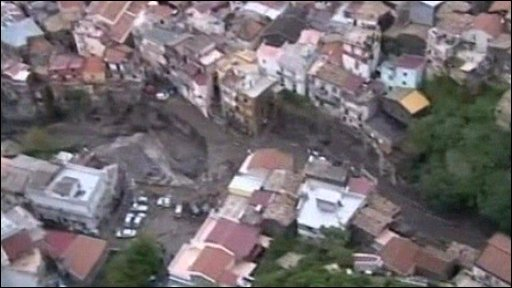 Mudslide devastation