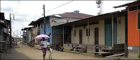 Street scene in Riosucio
