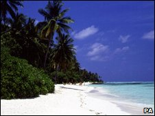 Beach in the Maldives (file image)