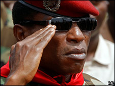 Capt Moussa Dadis Camara (5 October 2009)