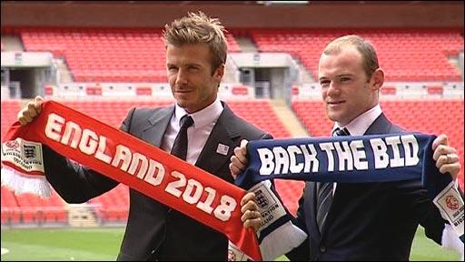 David Beckham & Wayne Rooney