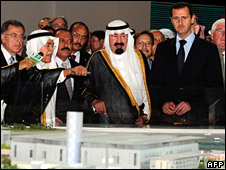 Bashar al-Assad and King Abdullah
