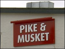 The Pike & Musket pub