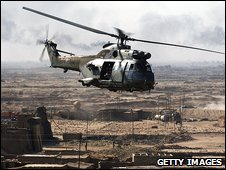 Generic image of RAF helicopter
