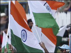 Indian flags (file image)
