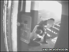 Video of Vadim Voevodin being attacked