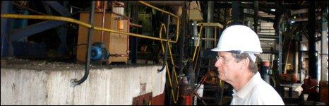Maragra sugar company general manager Michael Buchanan
