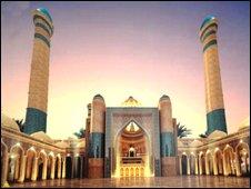 Drawing ofTajikistan mosque