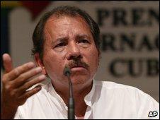 Daniel Ortega - file photo from 2006