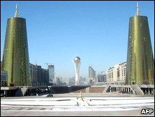 Astana, capital of Kazakhstan