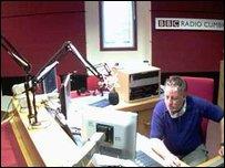 Gordon Swindlehurst in studio B