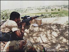 Yemeni government soldier
