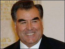 Tajik President Emomali Rakhmon - 22 October 2009