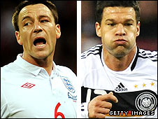 John Terry (left) and Michael Ballack