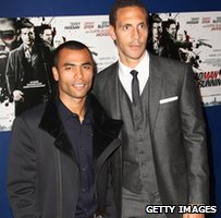 Ashley Cole and Rio Ferdinand