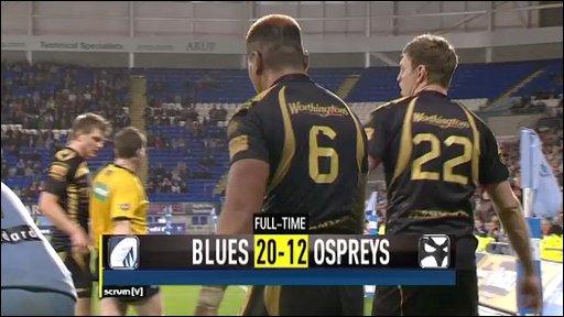 Blues v Ospreys