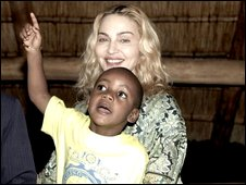 Madonna and David