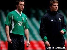 Mark Jones and Leigh Halfpenny