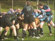 Rugby: Guernsey Ladies v Jersey Banks Ladies