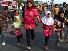 Women and children in Aceh - 14 October 2009