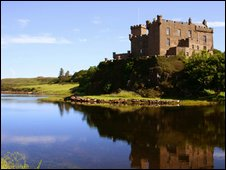 Dunvegan Castle, photo courtesy of Hugh MacLeod