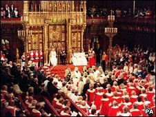 Lords at state opening