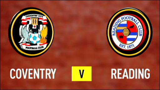 Coventry 1-3 Reading