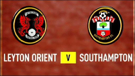 Leyton Orient 2-2 Southampton