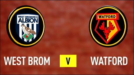 West Brom 5-0 Watford