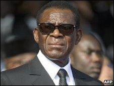 President Teodoro Obiang Nguema, file image