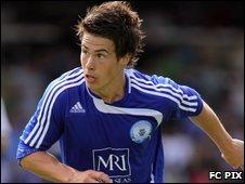 Peterborough United midfielder Tommy Rowe