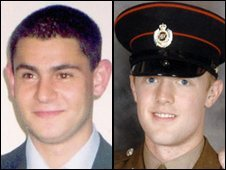 Sappers Patrick Azimkar and Mark Quinsey died in the attack