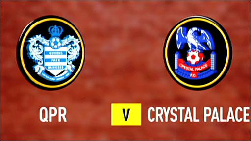 QPR 1-1 Crystal Palace