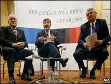 Members of the Independent Monitoring Commission