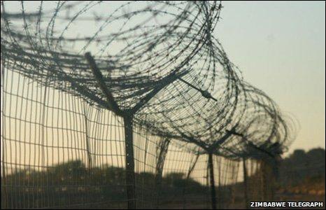 Botswana barrier