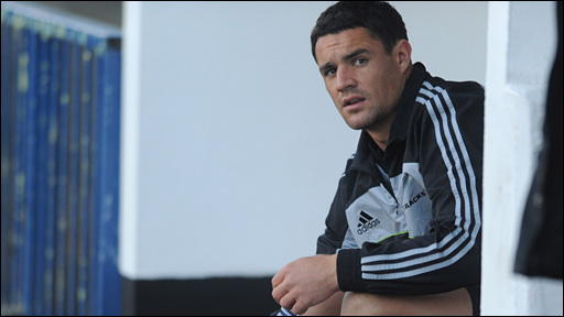 Dan Carter sits out New Zealand training