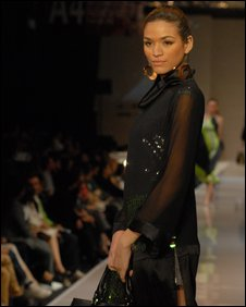 Model wearing design by Malaysian designer Tom Abang Saufi. Photo from Tom Abang Saufi