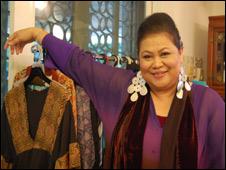 Malaysian designer Tom Abang Saufi