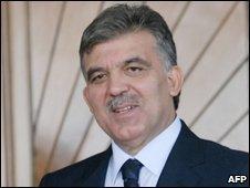 Abdullah Gul, 16 Oct