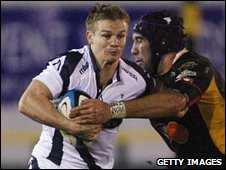 Dwayne Peel came on for the final quarter of Sale's 20-9 defeat at Newport on a weekend when player release laws prevented him playing for Wales against New Zealand