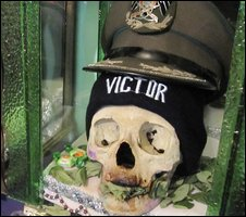"Skull known as ""Victor"""