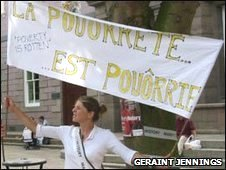 Jerriaise protest
