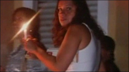 People use candles in Rio di Janeiro